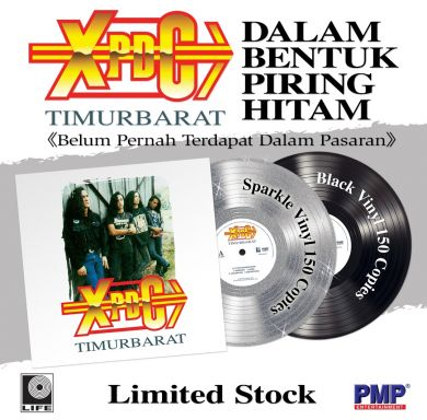 XPDC : Timur Barat (Black Vinyl 150 copies)(Limited Edition)